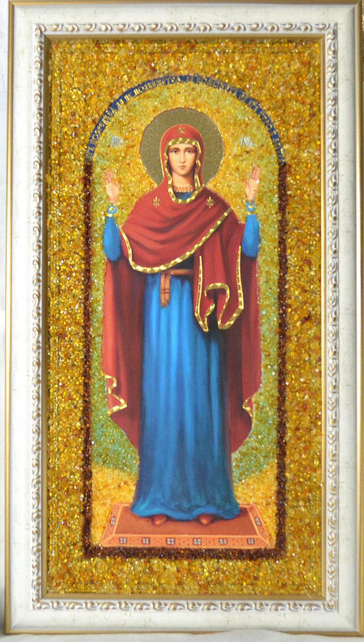 подаче образ божией матери на янтаре недвиж-ть